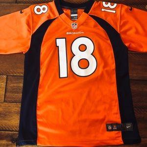 NFL Peyton Manning Broncos Youth Large Jersey